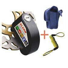 Security Anti Thief Motorbike Motorcycle scooter Wheel Disc Brake alarm lock