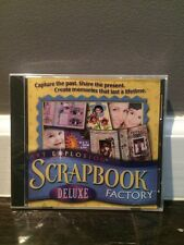 ART EXPLOSION SCRAPBOOK FACTORY DELUXE (2001) PC CD-ROM NEW & FACTORY SEALED