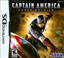 CAPTAIN AMERICA SUPER SOLDIER DS! DSI, LITE, XL, 3DS! AVENGERS HERO WWII, MARVEL