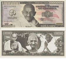 Gandhi  High Value  USA  Dollar Collectible Fancy UNCASHABLE Currency Type Note