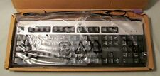 HP Keyboard PS2 Silver and Black SK-2880 New in Box