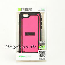 Trident Cyclops Rugged Hard Shell Snap Case Cover for iPhone 6 iPhone 6s (Pink)