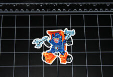 Transformers G1 Huffer box art vinyl decal sticker Autobot toy 1980's 80s