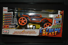 EXTREME BEAST Monster Truck Radio Control 2.4Ghz Truck ORANGE CONTROL REMOTE New