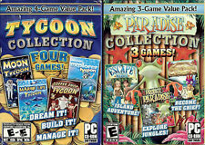 Lot Tycoon Collection & Paradise Collection - 7 Top Selling Simulation Games (PC