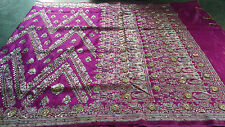 Designer Banarasi Handloom Satin Art Silk Saree with Zari Embroidry & Stone Work