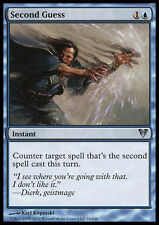 MTG 2x SECOND GUESS - SENNO DI POI - AVR - MAGIC