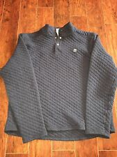 Men's Avalanche T Snap Quilted Pullover XXL 2XL Blue Outdoor Inspired Apparel