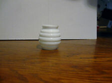 "Beehive Milk Glass Shade Globe For Little Beauty Lamp 1"" x 1 3/4"" C. 1890"