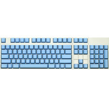 Max Keyboard ANSI 104-key Cherry MX Replacement Keycap Set 6.0x (Blue / Blank)