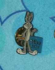 Toons  Looney Tunes VINTAGE Small PIN Bugs Bunny Mixa Bébé RARE 1""