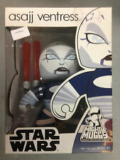 2008 STAR WARS MIGHTY MUGGS ASAJJ VENTRESS VINYL ACTION FIGURE FUNKO POP