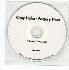(EV96) Copy Haho, Factory Floor - 2011 DJ CD
