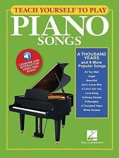Piano Songs - A Thousand Years and 9 More Popular Songs (2016, Paperback)