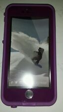Authentic Lifeproof Waterproof Fre Case For Apple iPhone 6 4.7 PURPLE light use