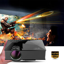 2016 UNIC UC46 LCD Mini Pico Projector1080P Home Theater 1200Lumen 2.4G WIF HDMI