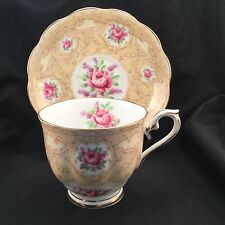 Royal Albert Devonshire Lace China Tea Cup Saucer Teacup Devonshirelace