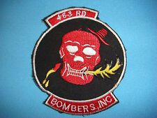 VIETNAM WAR PATCH, US Air Force 463rd BOMBARDMENT GROUP ( variant)