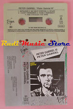 MC PETER GABRIEL III 1980 italy VIRGIN CDSK 74019 no cd lp dvd vhs