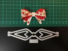 D009 bow Cutting Die for Sizzix Spellbinders Etc. Machine