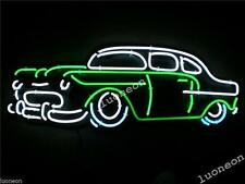 Old Car classical Handcraft Real Glass Garage display Neon Light Sign FREE SHIP