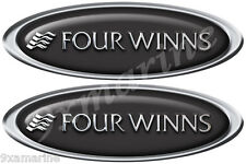 """Two Four Winns Boat Oval Decals 15""""x4"""" each"""