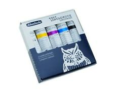Schmincke Lino Block Printing ink Set - Water Based - 5 x 20ml Tubes