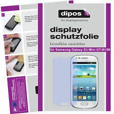 2x Samsung Galaxy S3 mini screen protector protection guard crystal clear