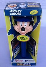 Disney Mickey Mouse wearing a MLB Dodger Hat. Giant 12' PEZ candy roll dispenser