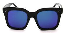 Mirror Square Sunglasses Large Oversized Designer Men Women Retro