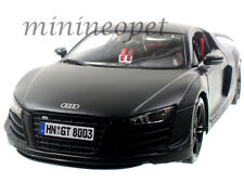MAISTO 36190 AUDI R8 GT 1/18 DIECAST MODEL CAR MATTE BLACK
