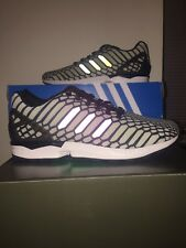 NIB ADIDAS Original ZX Flux XENO 3M Running Shoes Men's Size 8.5  AQ4534