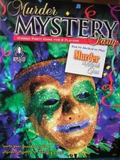Murder Mystery Party Game - Murder at Mardi Gras , New, Free Shipping