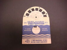 Sawyer's Viewmaster Reel,1948,Mexico City I,Mexico Zocalo Aztec Museum #501