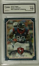 ANDRE JOHNSON 2013 Topps NFL LEGENDS IN THE MAKING # LM-AJ GEM MT 10    MINT