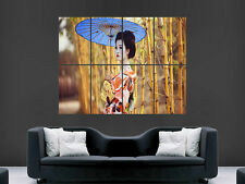 GIRL ASIAN GEISHA  GIANT WALL POSTER ART PICTURE PRINT LARGE