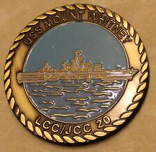 USS Mount Whitney (LCC/JCC 20) Navy Challenge Coin
