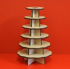 wedding table display , Ferrero chocolate stand 6 tier , Mdf unpainted kit