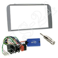 Sony CAN-Bus Lenkradinterface+Alfa Romeo 147 GT Typ 937 2-DIN Blende anthrazit