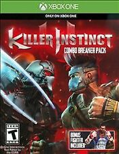 KILLER INSTINCT COMBO BREAKER PACK XONE ACTION NEW VIDEO GAME