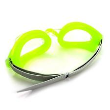 Frame Green Water Sport Swimming Glasses Diving Goggles & Earplug & Nose Clip