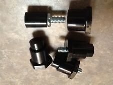 Davies Appliance Leveling Feet; 1/4-20 Thread Projecting Stud - Lot of 4