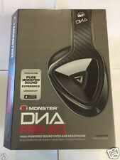 Monster DNA Pro 2.0 Noise Isolating Over-Ear Headphones Carbon Fiber NEW!