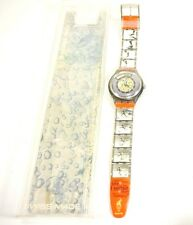 New Old Stock!!!  Swatch Automatic - Edwin Moses - Atlanta Olympics - NOS !