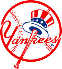 New York Yankees MLB Color Die-Cut Decal / Car Sticker *Free Shipping