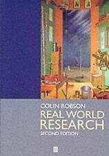 La ricerca del mondo reale: una risorsa per gli scienziati sociali e di ricerca medico -.
