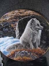 1988 Ron Parker  Nature's Quiet Moments NORTHERN MORNING Wolf Ltd Ed Plate