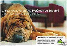 Publicité Advertising 2002 (2 pages) Leroy Merlin