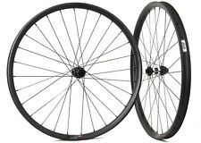 29er carbon asymmetric mtb wheelset 36 width carbon wheels for XC mountain bike