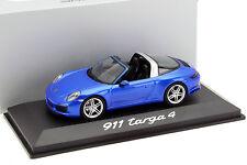 Porsche 911 (991) II Targa 4 blau 1:43 Herpa